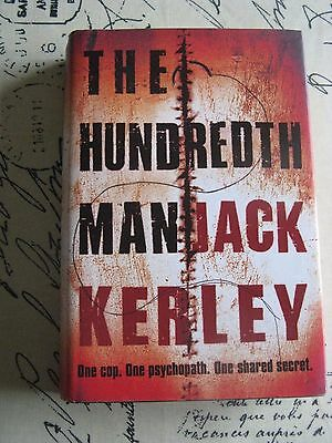 The Hundredth Man by Jack Kerley hardback book crime thriller