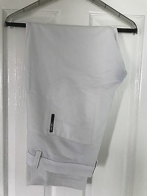 "Mens Galvin Green Ventil8 White golf trousers 36""waist/31""leg"