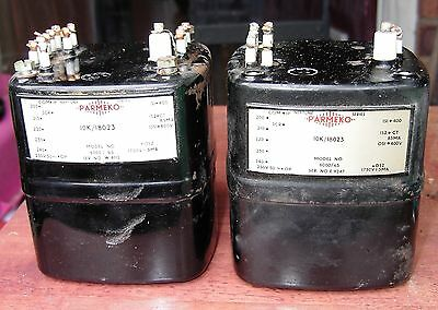 Parmeko Neptune type 6000 / 65, HT transformer, auction is for a pair