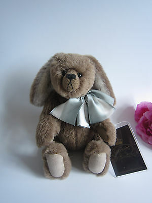Cotswold collectable mohair bunny bear. Lim ed. Beautiful. Perfect cond.