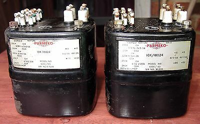 Parmeko Neptune type 6000 / 63, LT transformer, auction is for a pair