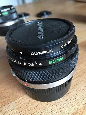 !sale! Olympus Auto 1:1 80mm F4 Macro Zuiko Lens , nearly MINT
