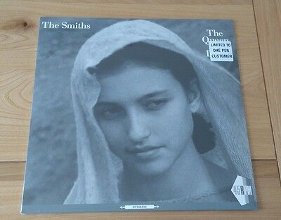 """RARE The Smiths The Queen Is Dead 2017 Euro 12"""" Single New Sealed Alt Rock Indie"""