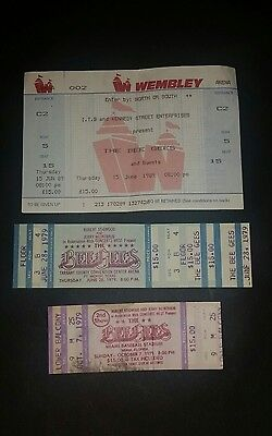 Authentic Bee Gees Tickets, Wembley, Forth Worth and Miami.
