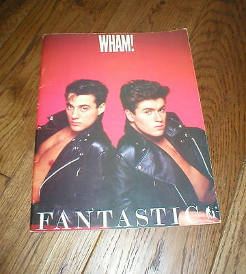 Wham! FANTASTIC (George Michael)  music score book from 1983