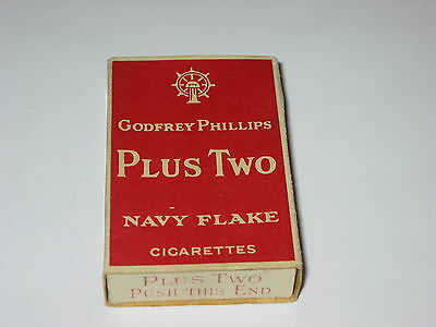 """Old Godfrey Phillips """"plus Two"""" Live Cigarette 20 Packet"""