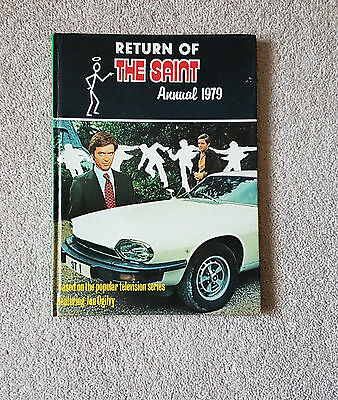 Return of the Saint UK annual from the TV series 1979