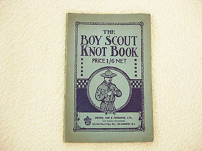the boy scout knot book by j.gibson-1945-paperback