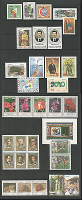 Syria, Complete Year Sets 2010, According To SG. Cat. & As Per Scan, MNH.