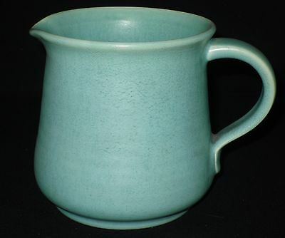 Royal Lancastrian Pottery Green Glazed Jug