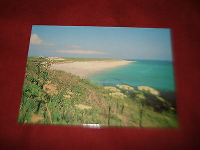 VINTAGE CHANNEL ISLANDS: HERM Shell beach panorama colour