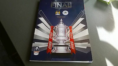 2013 Fa Cup Final Programme *(Manchester City V Wigan Athletic)* (11/05/2013)