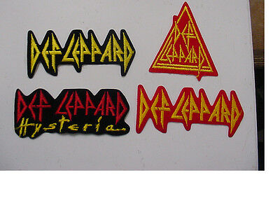 4 styles DEF LEPPARD VINTAGE IRON PATCH  LICENSED