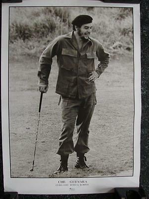 "B006 Vintage Poster of Che Guevara playing golf 1959 19"" x 27"" Poster Foto by A."