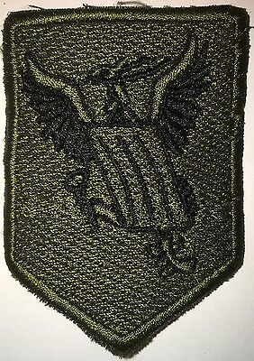 Colombian Army Od Subdued Batallon A.s.p.c. Patch New (L65)