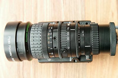 """Fujinon H16x10a  10-160mm f2.5 for 2/3"""" or 1/3"""" C-Mount"""