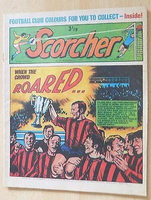 SCORCHER Comic 1st May 1971 - Manchester City Cup Winners Cup Cover
