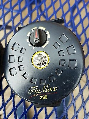 Abu Garcia Fly Max 389 Fly Reel And Case