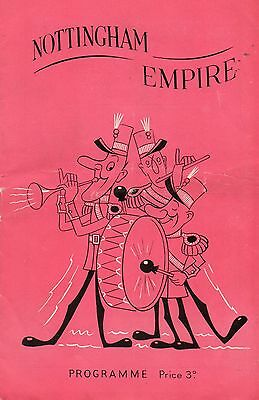 Nottingham Empire 1951 'french Follies' Dudley Dale  Programme.