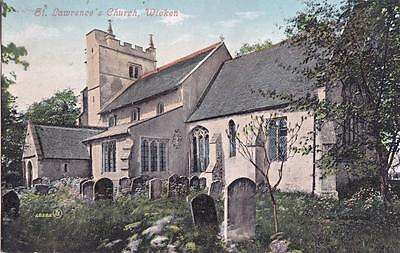 Pc Wicken St Lawrences Church Nr Soham   Cambs Posted 1906