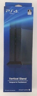 official Vertical Stand for Sony PS4™- Black designed by ps4 project sustain