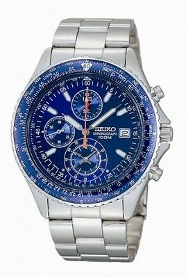 reloj hombre SEIKO SND255P1 FLIGHTMASTER PILOT CHRONOGRAPH  MEN'S WATCH