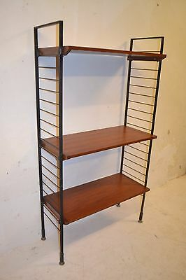 Stunning Vintage Rosewood Storage Bookcase Display Shelving System