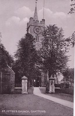 PC CHATTERIS ST PETERS CHURCH BY WILLIS  CAMBS c1907