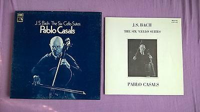 EMI RLS 712 - Bach - The Six Cello Suites - Casals