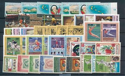 [G23408] St Lucia Good Lot of Very Fine MNH Stamps