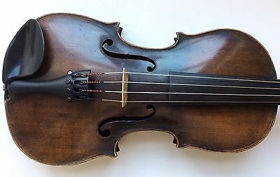 Interesting old German Mittenwald Violin, full size, ready to play