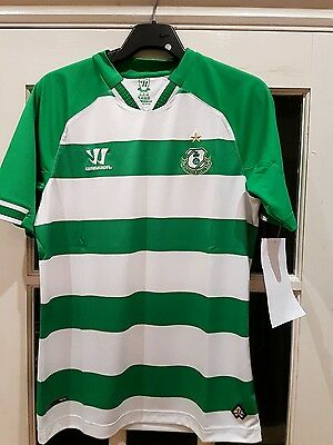 Childs Shamrock Rovers Home Shirt Size Lb New