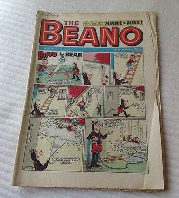 VINTAGE THE BEANO COMIC 24th June 1972 Issue no. 1562