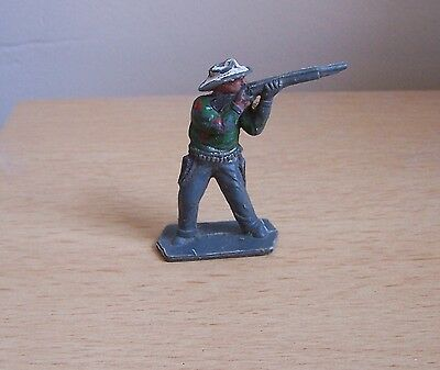 LONE STAR HARVEY SERIES PLASTIC COWBOY With RIFLE - VINTAGE - 1960s