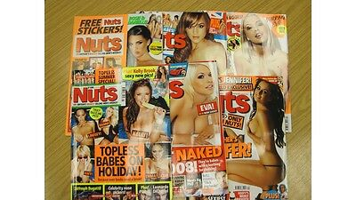 Nuts Magazines Back issues 2008-2010