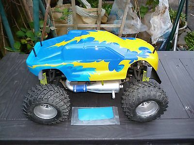 Thunder Tiger Nitro Ssk Monster Truck 80%? Complete L@@k Spares Or To Complete?