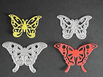 2 Pcs Butterfly Cutting Die (card making or scrapbooking)