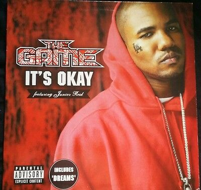 """The Game ft. Junior Reid- It's Okay (One Blood) 12"""" (incl. Instrumental Mix)"""