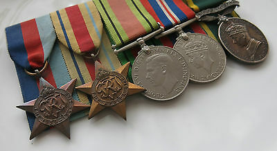 WWII BRITISH Army MEDAL GROUP Named-Corporal CPL H.BOOTH ACC