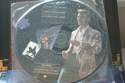 Rare David Bowie Loving the Alien EMI America Picture Disc 12EAP195 3 Track 12""