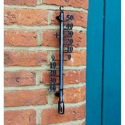 Wall Decorations, Outdoor Indoor  Thermometer - 40cm Height, Garden, Decor