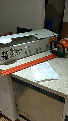 Stihl HS45 Hedge Trimmer 24' Blade One Month Old