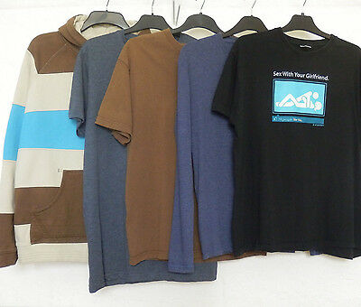 Men's top bundle size Large with 5 items including Animal hoody