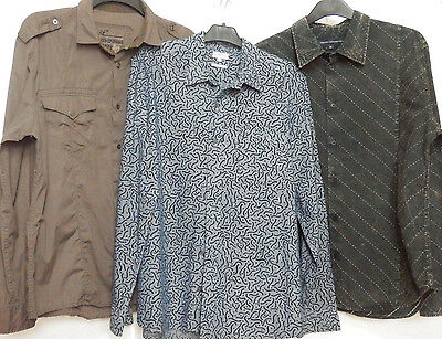 Men's shirt bundle size XL including French Connection and Next - 100% cotton