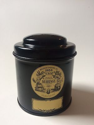 Tea tin - Marriage Freres French 3.5 Oz EMPTY Container Only