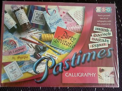 Teach Yourself Calligraphy Set/Kit New Boxed