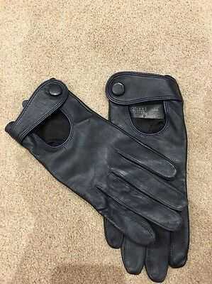 Leather Gloves Large Women's