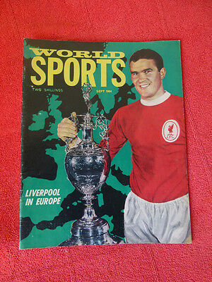 Vintage Worlds Sports Int. Sports Magazine. September 1964 - Liverpool