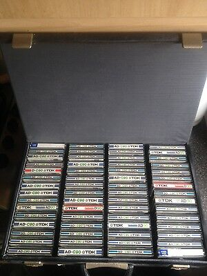 60 tdk cassette tapes (late 1970s)