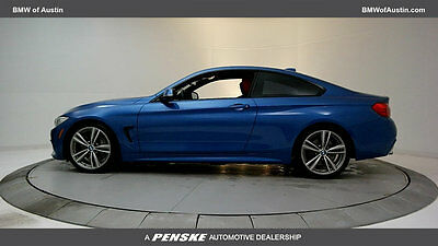 2014 BMW 4-Series 435i 435i 4 Series 2 dr Coupe Gasoline 3.0L STRAIGHT 6 Cyl Estoril Blue Metallic